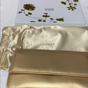 EXCLUSIVE pandora shine clutch